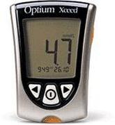Abbott Optium Xceed Blood Glucose Monitor Kit