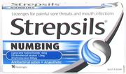 Strepsils Lozenges Numbing 16 pack