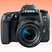 New Canon EOS 77D 18-55mm Kits 24MP Digital SLR Camera (FREE INSURANCE + 1 YEAR AUSTRALIAN WARRANTY)