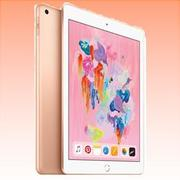 New Apple Ipad (9.7) 128GB (2018) Cellular Tablet Gold (FREE INSURANCE + 1 YEAR AUSTRALIAN WARRANTY)