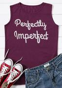 Perfectly Imperfect O-Neck Tank