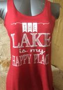 The Lake Is My Happy Place Tank