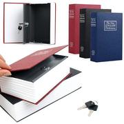 Creative Safe Storage Box Case Dictionary Booksafe Cash Secure Metal Steel With Keys