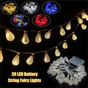 20-LED Moroccan String Bulb Fairy Lights Xmas Wedding Decor Novelty Garlands