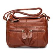 Woman Genuine Leather Classic Crossbody Bag High-End Messenger Bag Shoulder Bag
