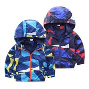 Boys Spring Autumn Windbreaker Jackets