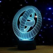 Artistic 3D Night Light