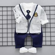 3Pcs Newborn Baby Boys Outfits Clothes Set